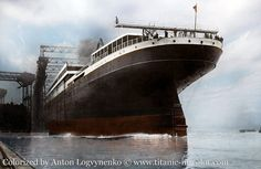 FOLLOW.  Now let's start with the launching of these boats. THE RMS GIGANTIC - HMHS BRITANNIC was launched on February 26 1914.  Ahora empecemos con las botadura de estos barcos. EL RMS GIGANTIC - HMHS BRITANNIC fue botado el 26 de febrero de 1914.  #ships #followme #cruising #ship #boat #shipping  #barco #sea #sailboat #sail #arquitectura #yacht #yachts #luxury  #titanic  #katewinslet #leonardodicaprio #luxurylifestyle  #london #uk  #colombia  #megayacht #history  #historia #ocean  #oceano…