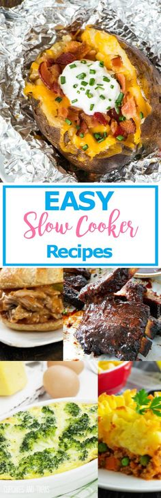 EASY SLOW COOKER REC