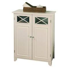 Dawson Floor Cabinet - White