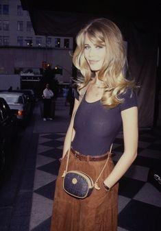 Claudia Schiffer #vintage #fashion #fringehoppity