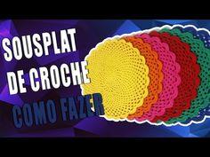 🔴 SOUSPLAT DE CROCHE - CROCHE - YouTube