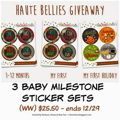 Reviews, Chews & How-Tos: Review & Giveaway: Haute Bellies