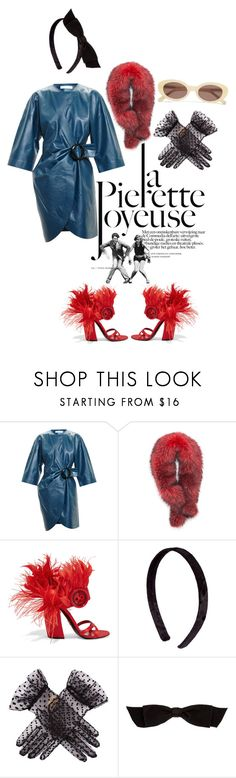 """""""Untitled #459"""" by gina-stewart75 on Polyvore featuring Mina, J.W. Anderson, Andrew Marc, Prada, Dents, Chanel and Elizabeth and James"""