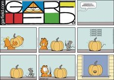 Garfield by Jim Davis for Sun 27 Oct 2019 Garfield And Odie, Garfield Comics, Jim Davis, Cat Selfie, Hilarious, Funny, Just For Laughs, Dungeons And Dragons, Comic Strips
