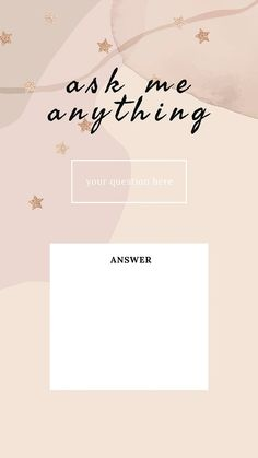 Download free vector of Ask me anything social media story template vect