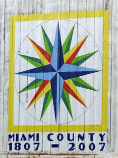 Barn Quilt Pattern Signs | Malarkey Barn Quilt - Troy, Ohio - Painted Barn Quilts on Waymarking ...