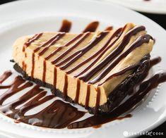 Decadent Peanut Butter Fudge Pie with an Oreo cookie crust, and creamy peanut butter filling made with cool whip and cream cheese. Topped with hot fudge, Peanut Butter Fudge Pie is a must-make! Pound Cake Recipes, Pie Recipes, Dessert Recipes, Candy Recipes, Baking Recipes, Fudge Pie, Hot Fudge, Peanut Butter Filling, Peanut Butter Fudge