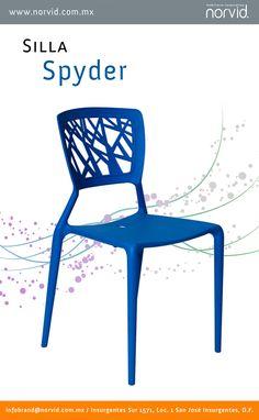 silleria diseo diseno muebles silla spyder ergonomia comodidad