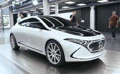 Mercedes EQA et EQC : ses futures électriques se dévoilent un peu plus