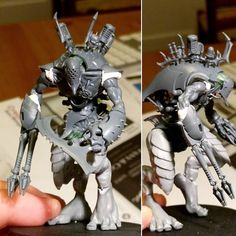 Tearing some pages straight out of @cagn02 book for this #miniaturemonday #darkeldar #talos. #warmongers. Based on the #painengine kit @son_of_volmer bought me and giant/ #carnifex kits I've had lying around for waaaay too long.