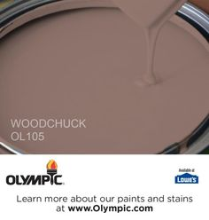 WOODCHUCK OL105 is a part of the reds collection by Olympic® Paint.