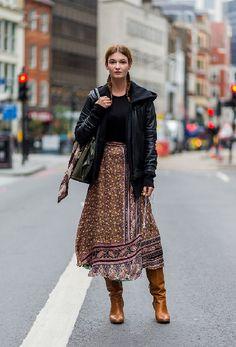 30 неповторимых образов на Лондонской неделе моды 2016 года