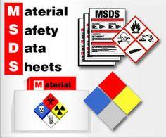 MSDS dibuat oleh produsen atau importir dan wajib disertakan pada setiap tempat penyimpanan, penggunaan dan transportasinya.