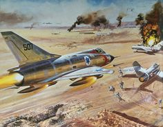 Mirage lll & MiG 15 (Dogfight Doubles)