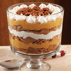 Pumpkin-Maple Cream Trifle - The Pampered Chef®