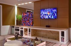 20 Salas de tv com lareira – tendência do momento! Veja modelos e dicas!