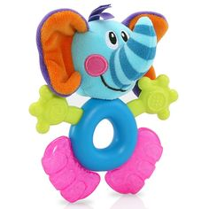#Nuby Fun Pal Elephant Teether! Would love to have in my diaper bag!!  #nubyusa