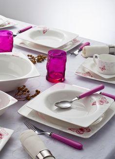 Sofranızda kelebekler uçuşturan yemek takımları Tantitoni'de :)
