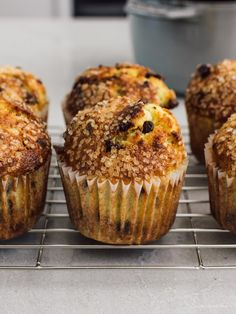 Best Ever Banana Chocolate Chip Muffin Recipe | www.iamafoodblog.com