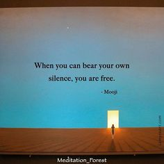 In deep silence we discover we are not tied to our thoughts and ideas about ourselves and others. We become aware of our true inner nature and realize that we are love. In that love we will always be free. Happy day!  #easymeditation #befree