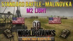 This is a Standard Battle taking place at Malinovka map with M2 Light tank in World of Tanks: Xbox 360 Edition, won with1015 experience. #WoT,#WoTXbox360Edition