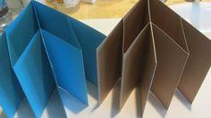How to Make a Accordion Fold Mini Scrapbook Album Craft Tutorial