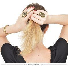 Acessórios em dourado com pedrarias. #moda #acessórios #iorane #bijoux #look #anel #pulseira #dourado #accessories #shop #ecommerce #loja #compreonline #lnl #looknowlook