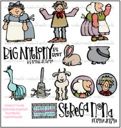Strega Nona Clip Art! So cute!