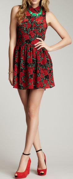Rosy dress  / minkpink