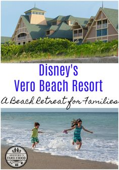 Disney's Vero Beach Resort is the perfect beach retreat for families who want to relax, but still crave a little Disney magic Disney Vacation Club, Florida Vacation, Florida Travel, Disney Vacations, Travel Usa, Vacation Ideas, Travel Tips, Disney Resorts, Mexico Travel