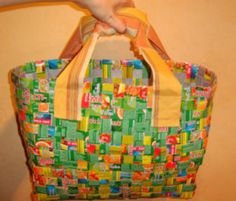 DIY Milk Carton (Strip) Bag | D . I . Y .  Done ! It 's Yours !
