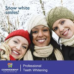 Snow White Smiles!! Yes, you may get a shiny and confident smile through the #professional_teeth_whitening services offered by #Dental_Experts.  Contact Cosmodent at 9999354118 (#Delhi), 8867208923 (#Bangalore), 8588097530 (#Gurugram) or visit our website for more information: https://goo.gl/eQUqY7  #dentist #dental_clinic #dental_surgeons #laser_teeth_whitening #services #professiona_teeth_solutions