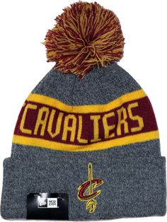 a7cf2a6d6d0 Cleveland Cavaliers New Era NBA Marl Knit Bobble Hat
