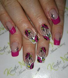 Natural Acrylic Nails, Wedding Nails Design, Fun Nails, Pedicure, New Hair, Nail Designs, Polish, Rose Nails, Nail Arts