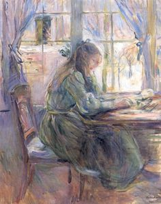 "Berthe Morisot (1841-1895) was a painter and a member of the circle of painters in Paris who became known as the Impressionists. She was described by Gustave Geffroy in 1894 as one of ""les trois grandes dames"" of Impressionism alongside Marie Bracquemond and Mary Cassatt."