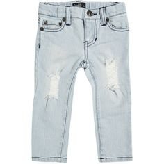 Baby Boy's Rocco Trash Jean (2.860 RUB) ❤ liked on Polyvore