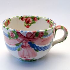 """TASSEN & HÄFERL """"Rosa-BluVerde"""" Tea Cups, Tableware, Dinnerware, Tablewares, Dishes, Place Settings, Cup Of Tea"""