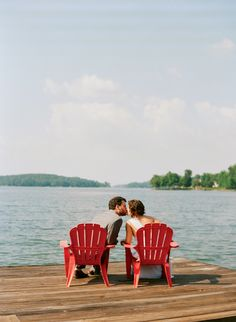 Colorful Lakeside Wedding by Melissa Schollaert, Part 1 « Southern Weddings Magazine