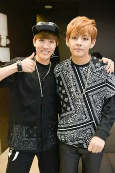 J-Hope and V