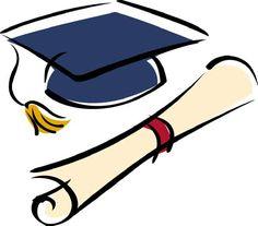 graduation clip art borders graduation cap and diploma free clip rh pinterest com graduation cap and diploma clipart graduation cap and diploma clipart