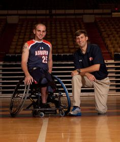 Take 5 with Jared Rehm and Nathan Waters, who established the campus organization Adaptive Recreation and Athletics and started the Auburn University Wheelchair Basketball Team.