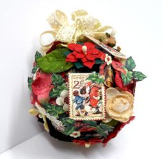 Christmas Ornament, St Nicholas, by Einat Kessler, product by Graphic 45, photo 1