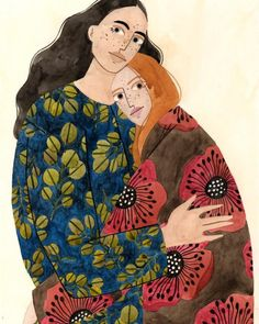 How wonderful are these illustrations by Brazilian artist Brunna Mancuso? Each of the ladies, some of which were painted as part of the artist's own 365 Day Project, are so full of authentic character and… Art And Illustration, Watercolor Illustration, Feminist Art, Art Inspo, Painting & Drawing, Illustrators, Art Drawings, Character Design, Creations