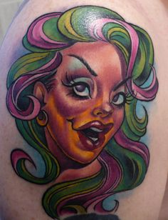 Tattoo by Joe Capobianco by Needles and Sins (formerly Needled), via Flickr