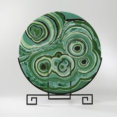 Malachite Flat Plate from Global Views - Dering Hall