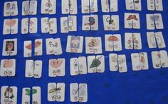 Slabiky - slova (rozpůlené obrázky) Photo Wall, Teaching, Education, School, Frame, Ms, German, Pictures, Picture Frame