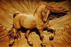 Wood Carving Head Boards Horses | wood carving horse wood carvings next