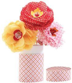 Papieren bloemen Betty