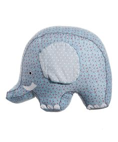 Elephant Cushion by Sass & Belle