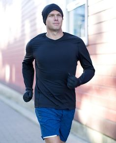 Run. Men. Winter. Lululemon